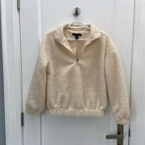 Cozy 3/4 zip sweater size small